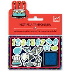 Mini tampons anniversaire