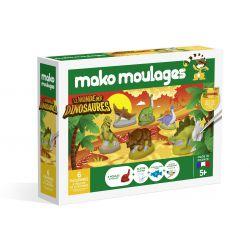 Le monde des dinosaures - 6 moules - Mako moulages