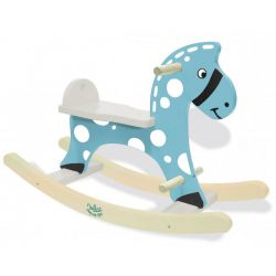 Cheval à bascule Stormy Bleu