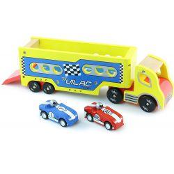 Semi remorque + 2 voitures à friction