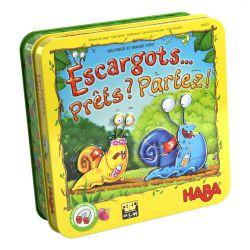 Escargots… Prêts ? Partez ! - jeu de dés familial à partir de 5 ans