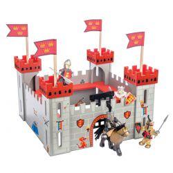 Château fort en bois : Mon premier château rouge