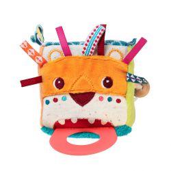 Cube multi activités - Jack le lion et son anneau de dentition