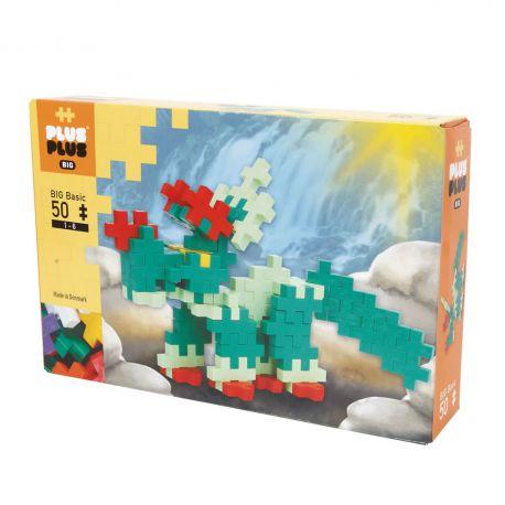 Plus plus Box Big Basic Dino - 50 pièces