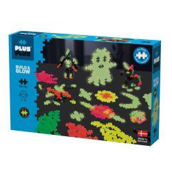 Plus plus Kit créations phosphorescentes - 360 pièces