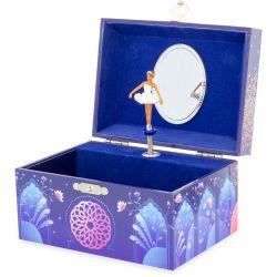 Boîte à bijoux musicale Princesse orientale ouverte