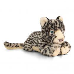 Peluche léopard des neiges 33 cm