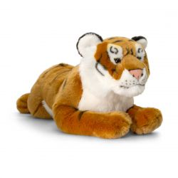 Peluche Tigre allongé de 46 cm