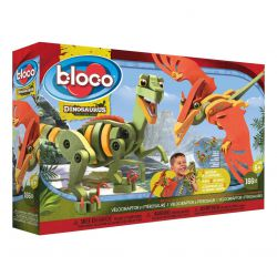 Vélociraptor & Ptérosaure Bloco - coffret
