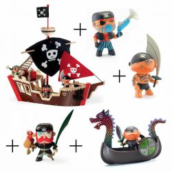Pack bateau pirate Arty toys
