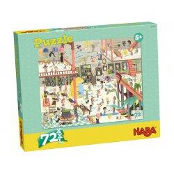Puzzle Ecole des sorciers Haba - Boîte