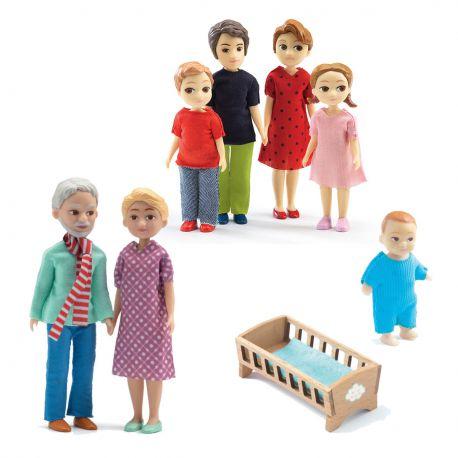 Petit Pack famille de poupées Djeco Thomas & Marion