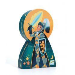 Puzzle Djeco 4 ans Le chevalier de la pleine lune 36 pièces