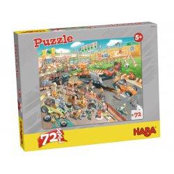 Puzzle Course automobile Haba - Boîte