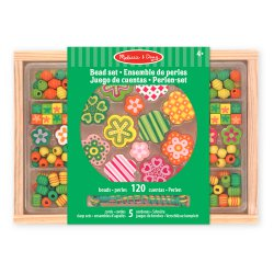 perles à enfiler - Flower power Melissa et Doug