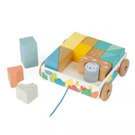 Chariot de cubes à promener Pure