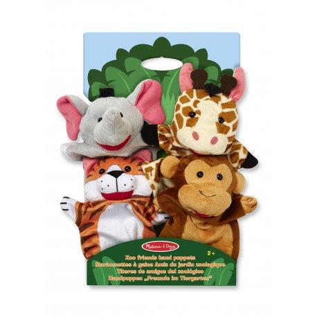 Marionnettes à main les animaux du zoo Melissa et Doug