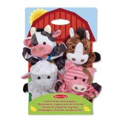 Marionnettes à main les animaux de la ferme Melissa et Doug