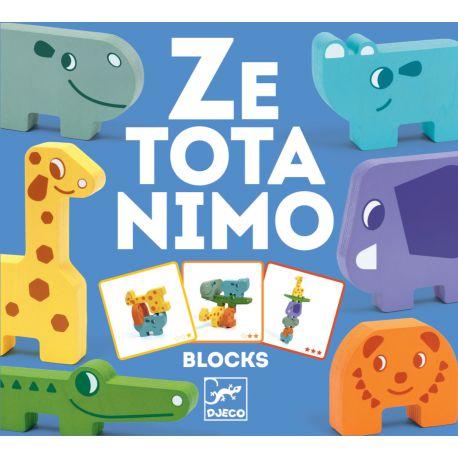 Ze Totanimo - Animaux à empiler - Djeco