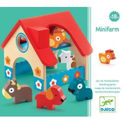 Minifarm Petite ferme Djeco dès 18 mois