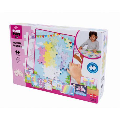 Plus plus Puzzle Big Pastel - 60 pièces