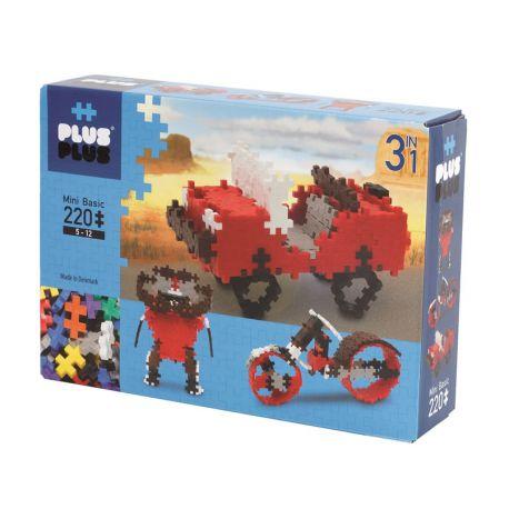 Plus plus Box basic 3 en 1 - 220 pièces