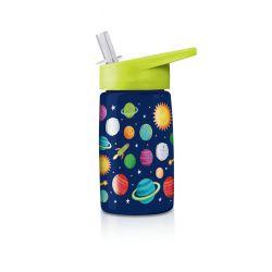 Gourde enfant Espace avec paille sans BPA