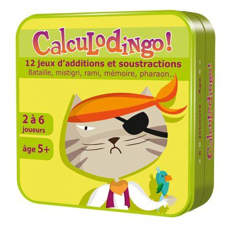 Calculodingo - 12 jeux pour apprendre les calculs