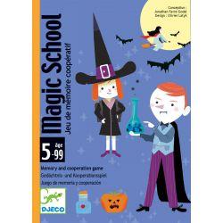 Magic School - jeu de carte coopératif - 5 ans +
