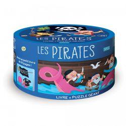 Les pirates - Puzzle 30 pièces + livre