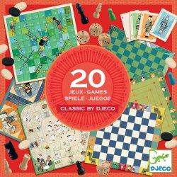 Classic box 20 jeux - Djeco