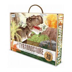 Le tyrannosaure 3D - Livre + maquette