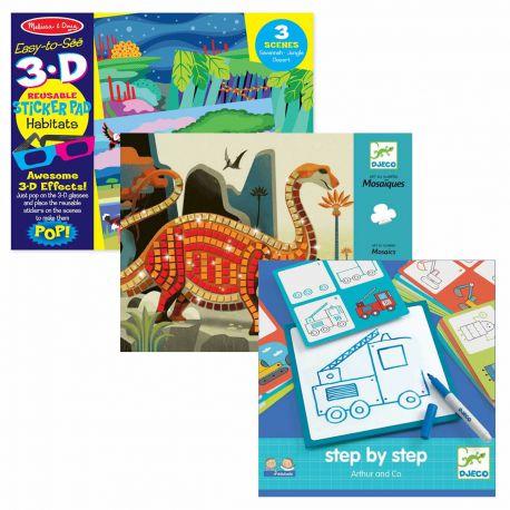 Pack loisirs créatifs garçon 4 ans