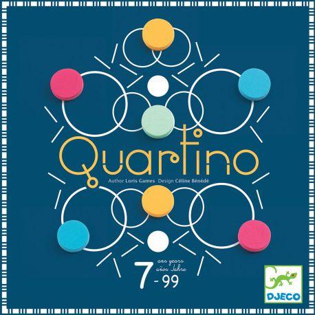 Quartino - Jeu tactique Djeco