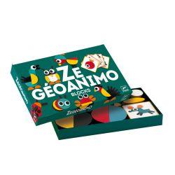 Ze Geoanimo - cartes à reproduire et pièces en bois