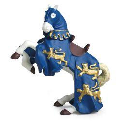 Cheval du roi Richard bleu - Papo