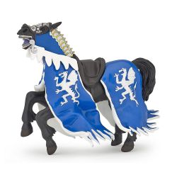 Cheval du roi au dragon bleu - Papo