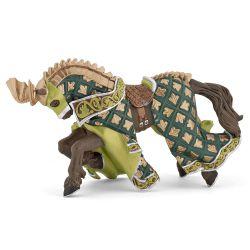 Cheval du Maître des armes cimier dragon - Papo