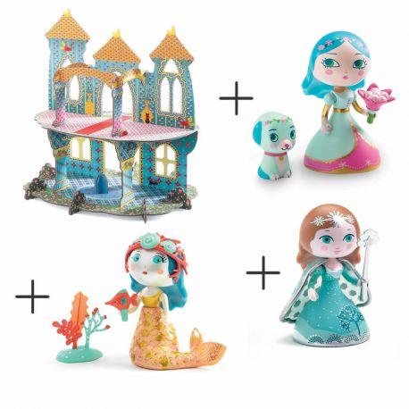 Pack Princesses + Château des merveilles
