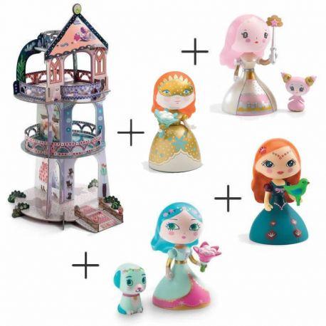 Petit pack princesses Arty toys et tour des merveilles