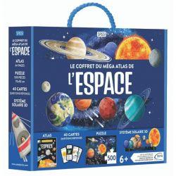 Le coffret méga atlas de l'Espace - Atlas + puzzle