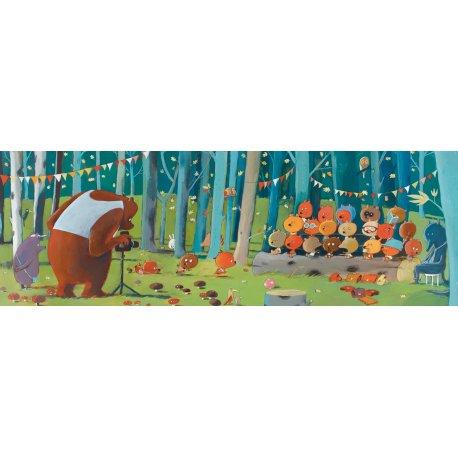Puzzle Forest friends Djeco 100 pièces