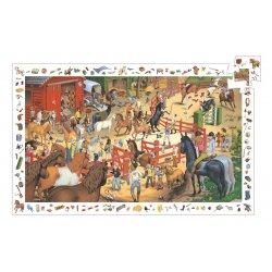 Puzzle d'observation Equitation Djeco 200 pièces
