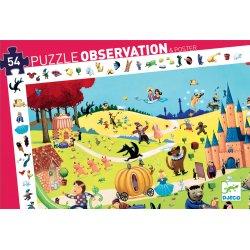 Puzzle Contes Djeco 54 pièces - Boîte