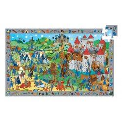 Puzzle Chevaliers Djeco 54 pièces