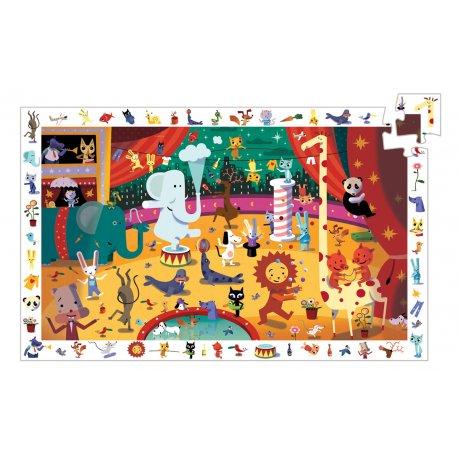 Puzzles Le Cirque Djeco 35 pièces