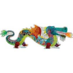 Puzzle géant Léon le dragon Djeco 58 pièces