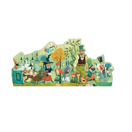 Puzzle La parade des contes Djeco 36 pièces