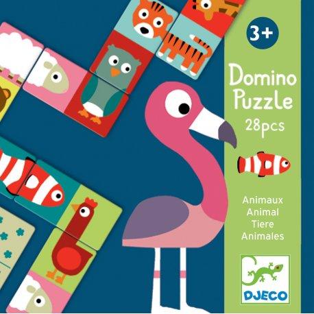 Domino Animo puzzle Djeco