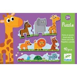 Puzzle Petits et grands Djeco